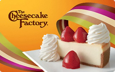 Cheesecake Factory $25 (Email Delivery)
