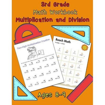 3rd Grade Math Workbook - Multiplication And Division - Ages 8-9 - 3rd  Edition By Nisclaroo (paperback) : Target