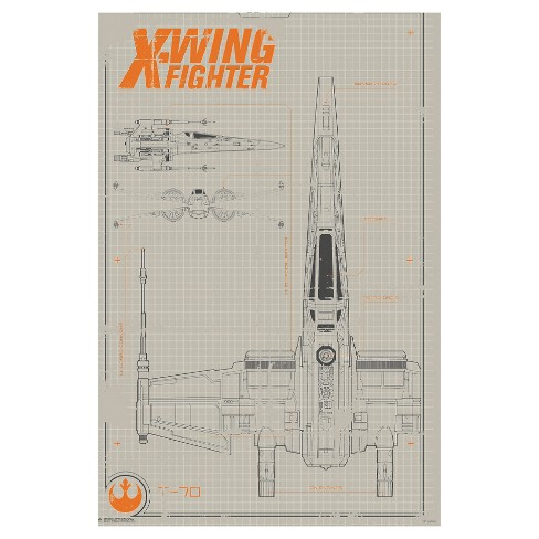 Art.com - Collector - Star Wars - X-Wing - image 1 of 3