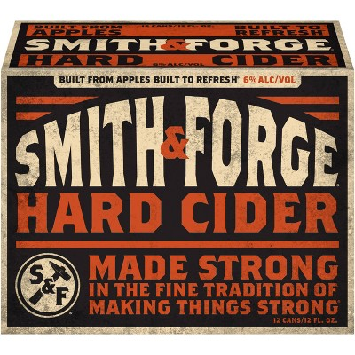 Smith & Forge Hard Cider - 12pk/12 fl oz Cans