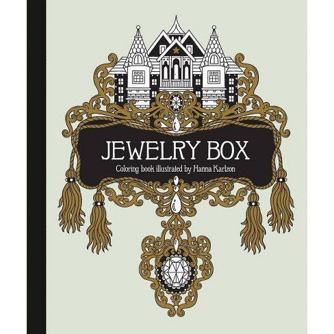 Jewelry Box Coloring Book - (Hardcover) - image 1 of 1