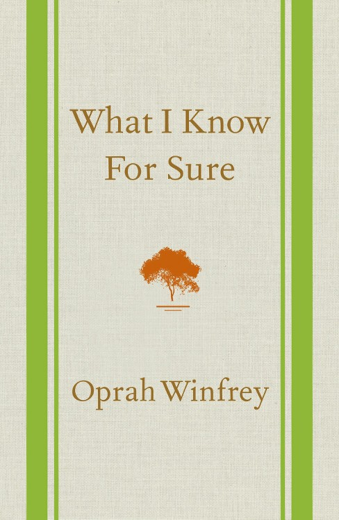 What I Know For Sure (Hardcover) by Oprah Winfrey - image 1 of 1