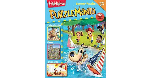 Summer Puzzles ( Highlights Puzzlemania) (Paperback) - image 1 of 1