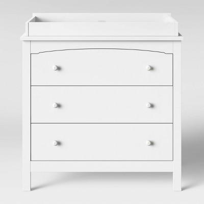 Baby Relax Dresser/changer Combo White