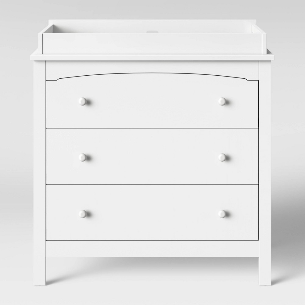 Image of Baby Relax Dresser/changer Combo White