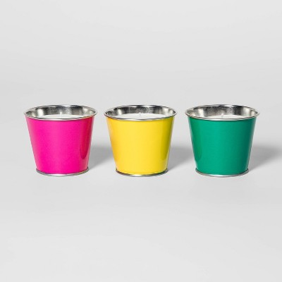 3pk Assorted Colors Citronella Candles - Sun Squad™