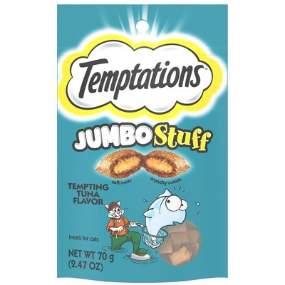Temptations Jumbo Stuff Tuna Cat Treats 2.5oz