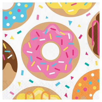 16ct Donut Time Napkins