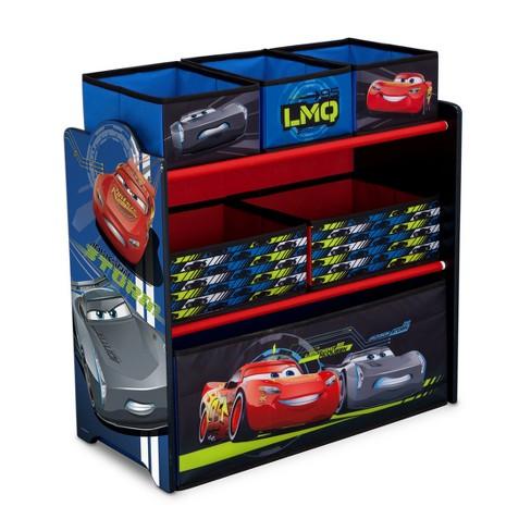 Delta Children Disney Pixar Cars Multi Bin Toy Organizer Target