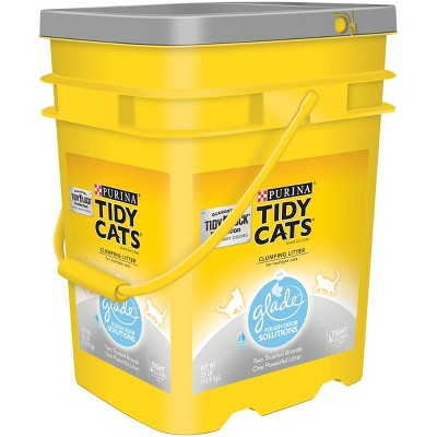 Purina Tidy Cats with Glade Tough Odor Solutions Multiple Cats Clumping Litter - 35lbs