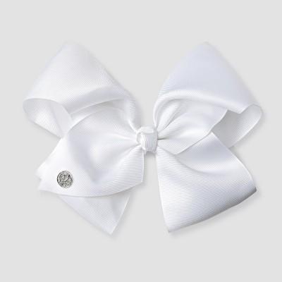 girls jojo siwa bow hair clip white target