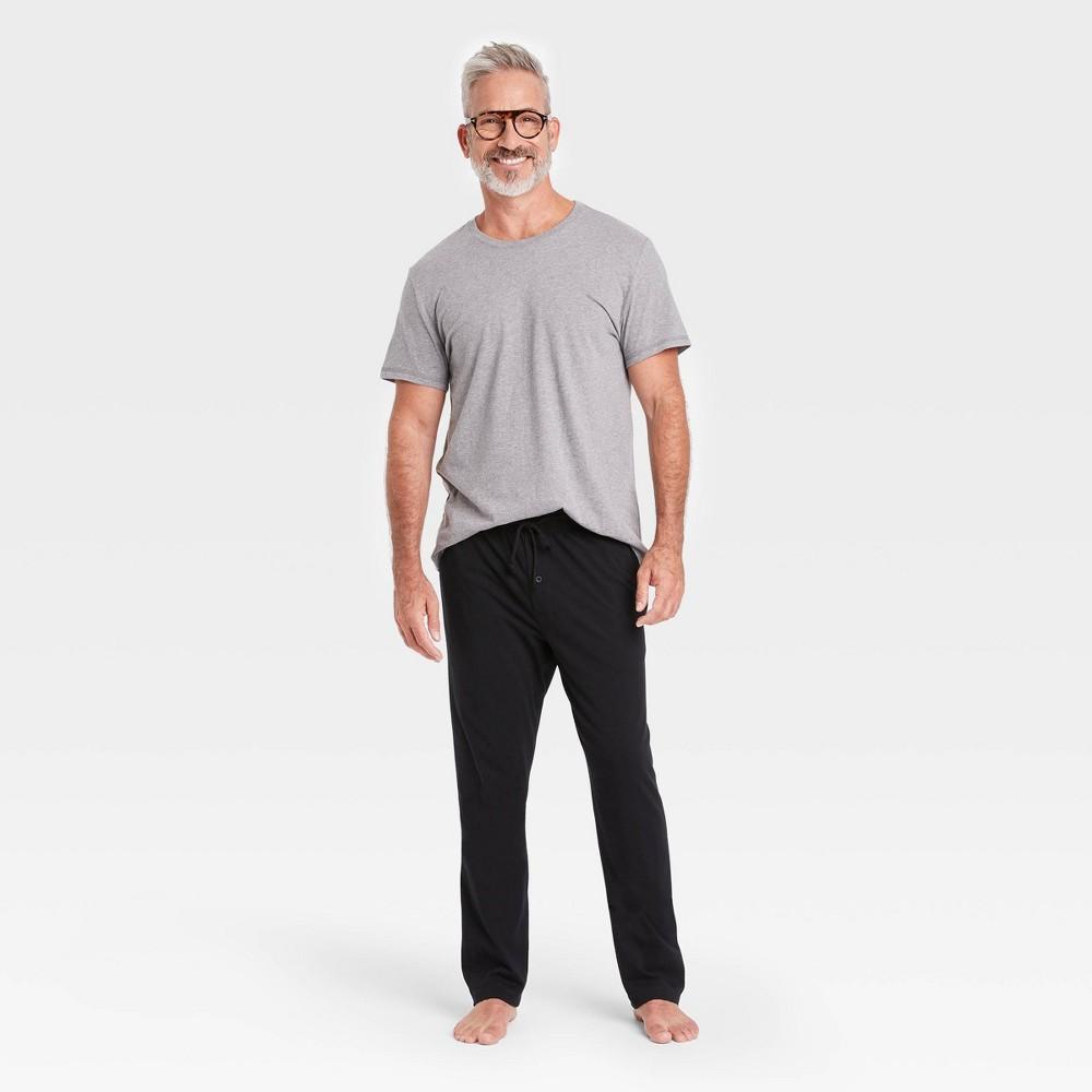 Men 39 S Knit Pajama Set Goodfellow 38 Co 8482 Heather Gray Xl