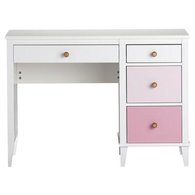 Merveilleux Monarch Hill Kids Poppy Desk   White/Pink   Little Seeds