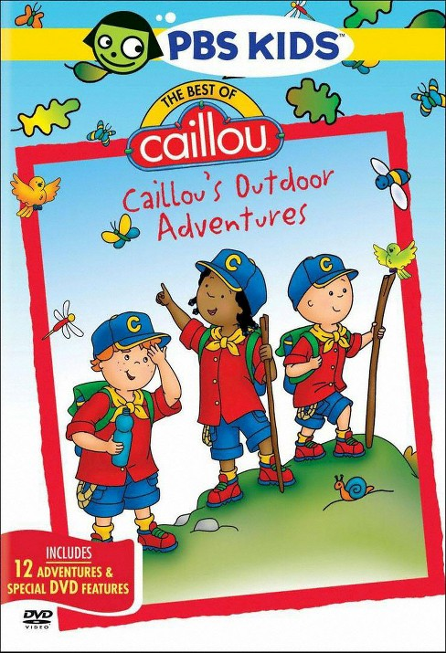 The Best of Caillou: Caillou's Outdoor Adventures (dvd_video) - image 1 of 1