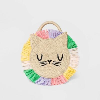 Toddler Girls' Lion Handbag - Cat & Jack™ Tan