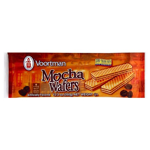 Voortman Mocha Sugar Wafers 12.3 oz - image 1 of 1
