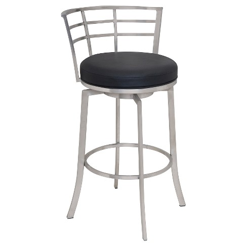 Viper 26 Counter Stool Black Armen Living Target