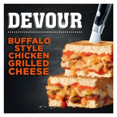 Devour Frozen Handheld Buffalo Chicken Grilled Cheese  - 7.41oz