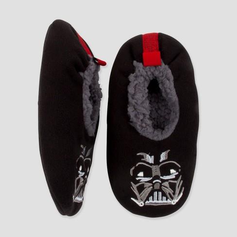 5b0c00678a Kids  Star Wars Darth Vader Slippers - Black   Target