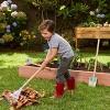 Little Tikes Growing Garden Large Tool Set with Lightweight & Durable Metal Shovel, Rake, Garden Hoe for Kids' - image 2 of 4