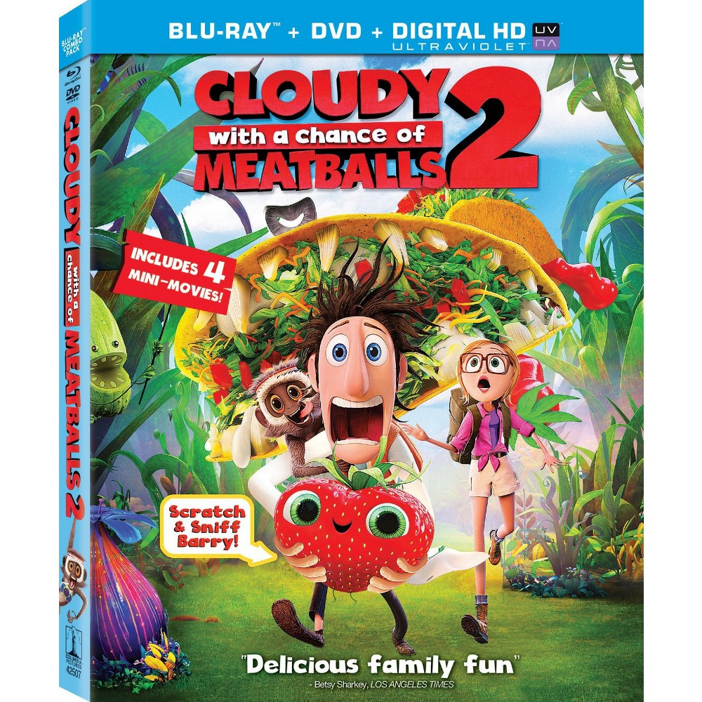 Cloudy With A Chance Of Meatballs 2 Blu Ray Dvd Digital