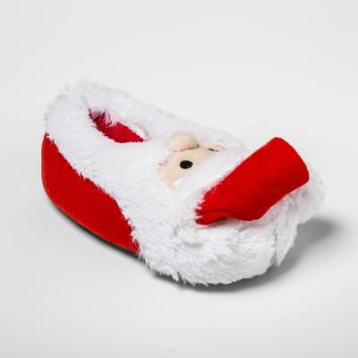 83b6ba4fa4 Kids  Holiday Santa Bootie Slippers - Wondershop™ Red