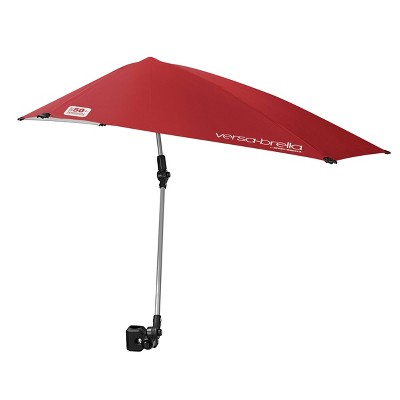 Versa-Brella with Universal Cl& - Firebrick Red  sc 1 st  Target & Canopies u0026 Shelters : Target