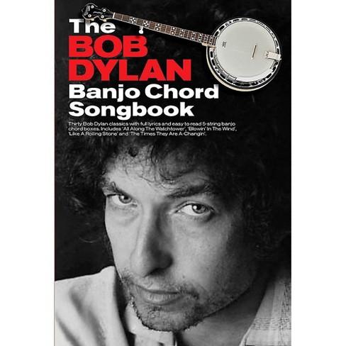 Hal Leonard The Bob Dylan Banjo Chord Songbook - image 1 of 1