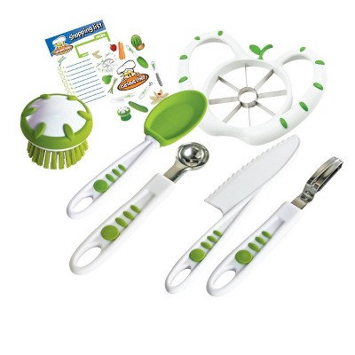 Curious Chef 6pc Fruit & Veggie Prep Kit