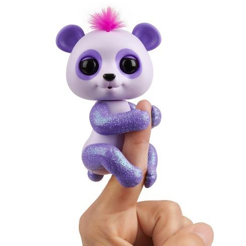 Fingerlings - Interactive Baby Panda - Beanie (Purple) - image 1 of 4