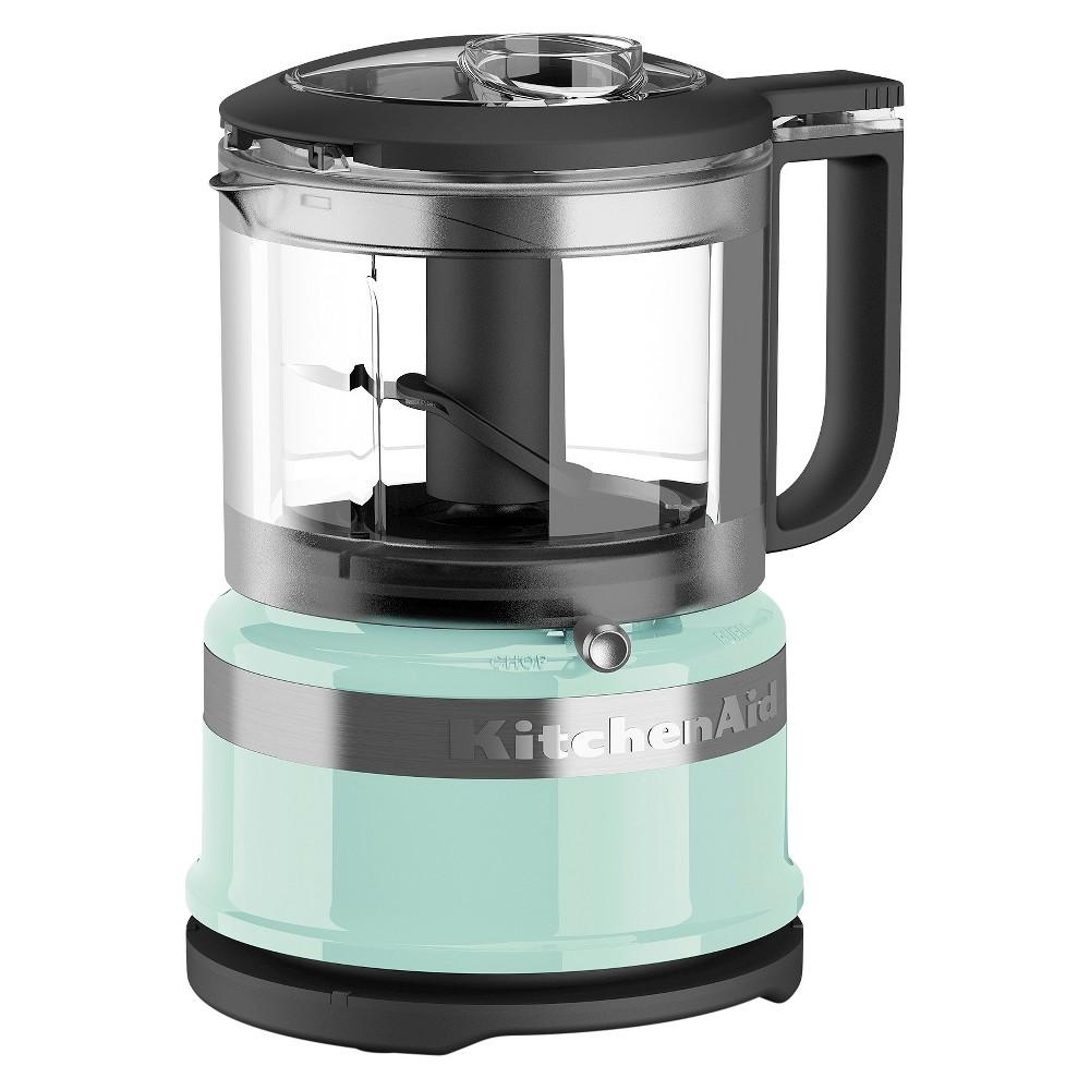 KitchenAid 3.5 Cup Mini Food Processor – KFC3516, Ice Blue 51165872