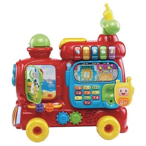 Vtech Sit To Stand Ultimate Alphabet Train Target