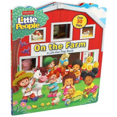 Fisher-Price Little People: On the Farm - (Lift-The-Flap) by  Matt Mitter (Board Book)