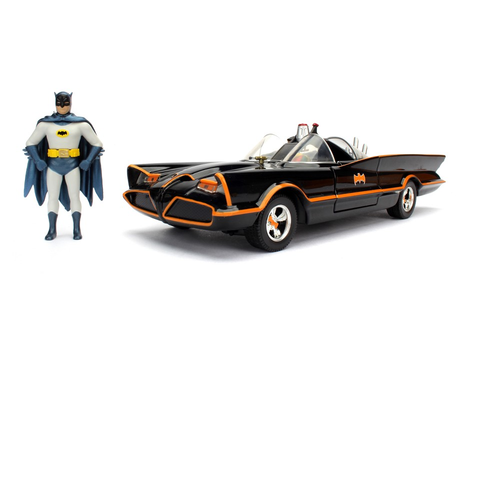 Image of Batman Diecast Vehicle - 1966 Classic Batmobile - 1:24 Scale