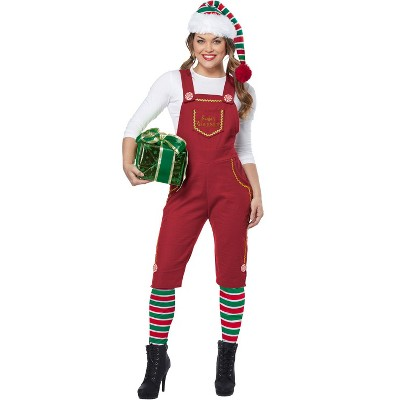 California Costumes Santa's Workshop Elf Adult Costume