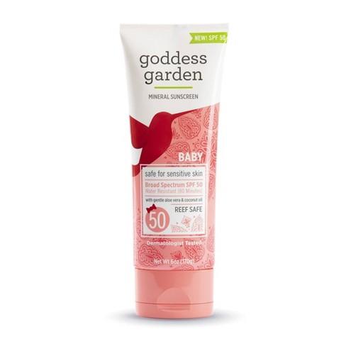 Goddess Garden SPF 50 Mineral Sunscreen - 6oz - image 1 of 2