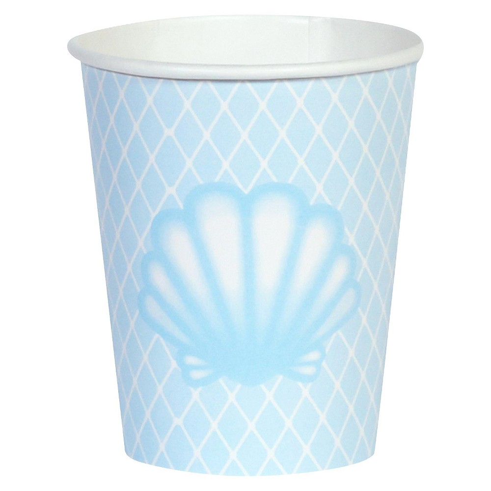 8ct Mermaids Under the Sea Cup, Multi-Colored