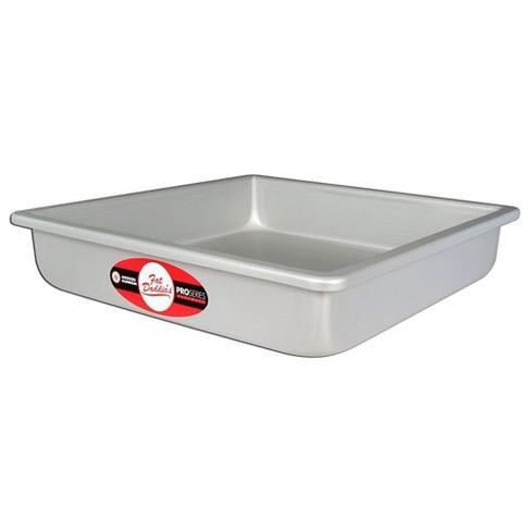 Silver 4 x 2 Inch Fat Daddios PRD-42 Round Cake Pan
