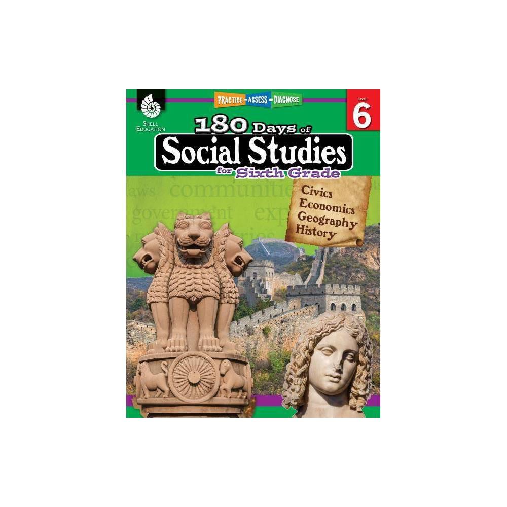 180 Days Of Social Studies For Sixth Grade 180 Days Of Practice By Kathy Flynn Terri Mcnamara Marla Tomlinson Paperback