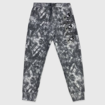 Men's Disney Mickey Mouse Jogger Pants - Gray - Disney Store