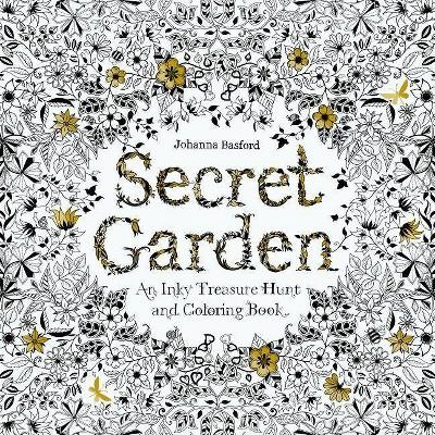 - Secret Garden Art By Johanna Basford (Paperback) : Target