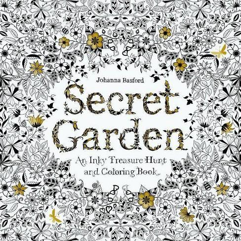 Secret Garden Art by Johanna Basford (Paperback) - image 1 of 1