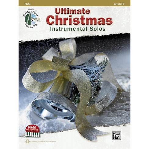 Alfred Ultimate Christmas Instrumental Solos Flute Book & CD - image 1 of 1