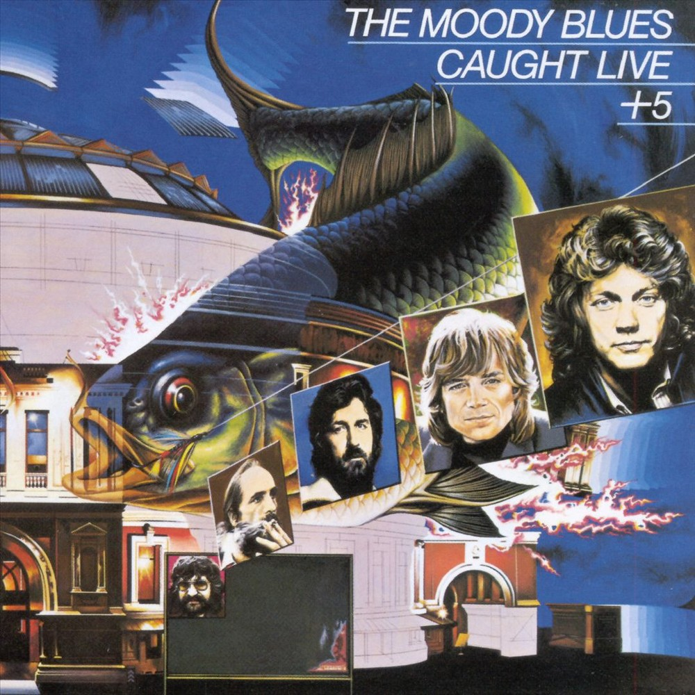 Moody Blues - Caught Live Plus Five (CD)