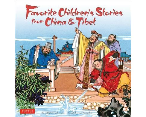 Favorite Children's Stories from China & Tibet -  by Lotta Carswell Hume (Hardcover) - image 1 of 1