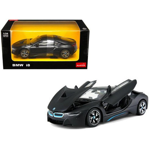 Bmw I8 Matt Black 1 24 Diecast Model Car By Rastar Target