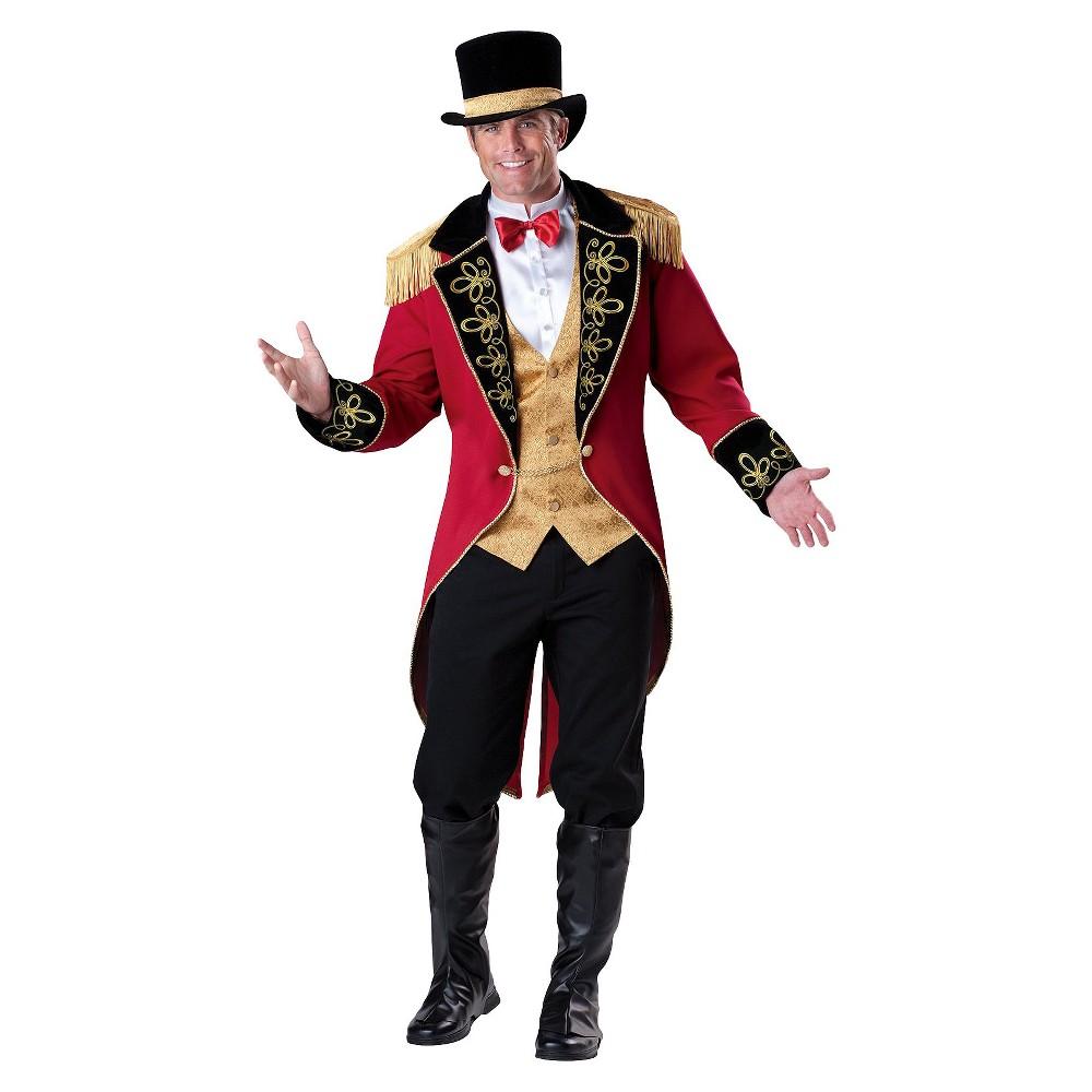 Image of Halloween Men's Ringmaster Costume, Size: Medium, MultiColored