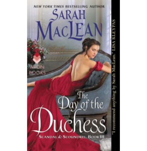 Day of the Duchess -  Reissue (Scandal & Scoundrel) by Sarah MacLean (Paperback) - image 1 of 1