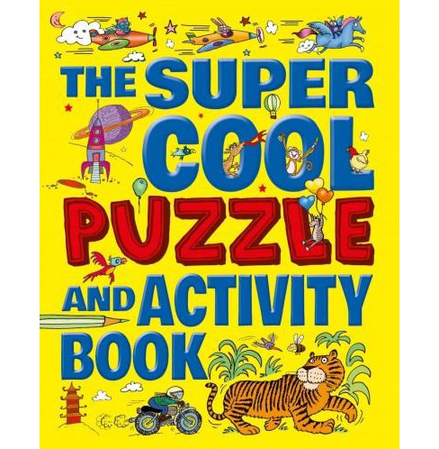 Super Cool Puzzle and Activity Book (Paperback) (Lisa Regan) - image 1 of 1