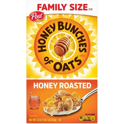 Honey Bunches of Oats Crunchy Roasted Breakfast Cereal - 23oz - Post